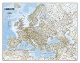 National Geographic Map Classic Europe, enlarged, Planokarte