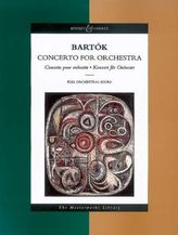 Concerto for Orchestra, Studienpartitur