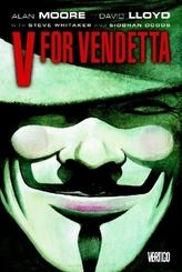 V For Vendetta. V wie Vendetta, englische Ausgabe