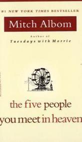 The Five People You Meet in Heaven. Die fünf Menschen, die dir im Himmel begegnen, englische Ausgabe
