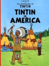 The Adventures of Tintin - Tintin in America. Tim in Amerika, englische Ausgabe