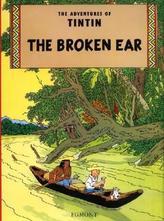 The Adventures of Tintin - The Broken Ear. Der Arumbaya-Fetisch, englische Ausgabe