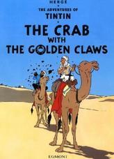 The Adventures of Tintin - The Crab with the Golden Claws. Die Krabbe mit den goldenen Scheren, englische Ausgabe