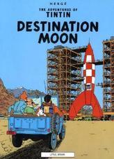 The Adventures of Tintin - Destination Moon. Reiseziel Mond, englische Ausgabe