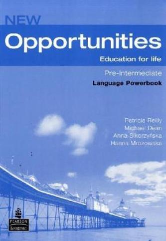New Opportunities: Pre-Intermediate (Language Powerbook) - Náhled učebnice