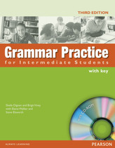 Grammar Practice for Intermediate Students, with Key and CD-ROM