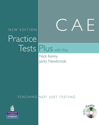 CAE Practice Tests Plus, New Edition, Book w. Key, CD-ROM - Kenny, Nick
