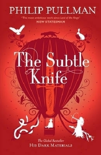The Subtle Knife. Das magische Messer, englische Ausgabe - Philip Pullman