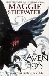 The Raven Boys. Wen der Rabe ruft, englische Ausgabe