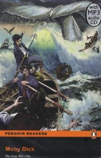 Moby Dick, w. MP3-CD - Melville, Herman