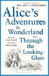 Alice's Adventures in Wonderland. Through the Looking-Glass. Alice im Wunderland; Alice hinter den Spiegeln, englische Ausgabe