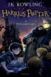 Harrius Potter et Philosophi Lapis. Harry Potter und der Stein der Weisen, lateinische Ausgabe