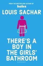 There's a Boy in the Girls' Bathroom. Bradley, letzte Reihe, letzter Platz, englische Ausgabe