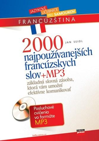 2000 najpoužívanejších francúzskych slov + MP3