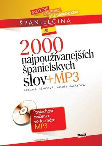 2000 najpoužívanejších španielskych slov + MP3