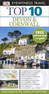 DK Eyewitness Top 10 Travel Guide: Devon & Cornwall
