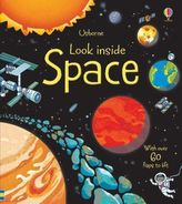 Look Inside Space. Aufklappen und Entdecken: Im Weltraum, englische Ausgabe