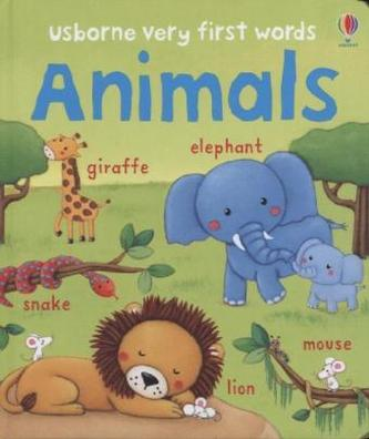 Very First Words Animals - Felicity Brooks