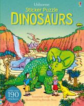 Usborne Sticker Puzzle Dinosaurs
