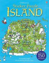 Usborne Sticker Puzzle Island