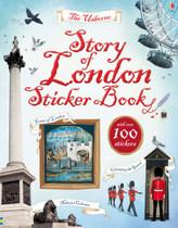 The Usborne Story of London, Sticker Book