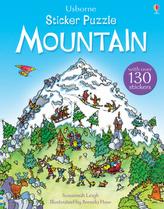 Usborne Sticker Puzzle Mountain