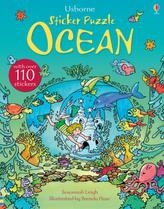 Usborne Sticker Puzzle Ocean