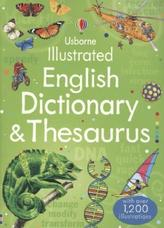 Usborne Illustrated English Dictionary & Thesaurus