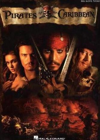 Pirates of The Caribbean, Soundtrack, Big Note Piano