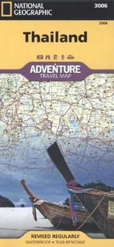 National Geographic Adventure Travel Map Thailand