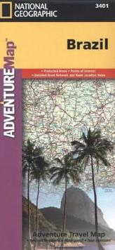National Geographic Adventure Map Brazil