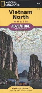 National Geographic Adventure Travel Map Vietnam North