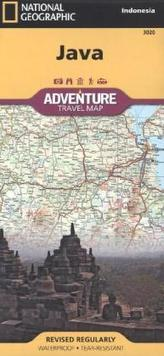 National Geographic Adventure Travel Map Java