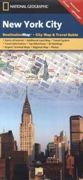 National Geographic DestinationMap New York City