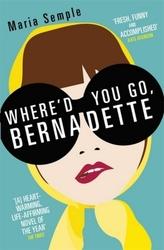Where'd You Go, Bernadette. Wo steckst du, Bernadette?, englische Ausgabe