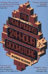 Mr Penumbra's 24-hour Bookstore. Die sonderbare Buchhandlung des Mr. Penumbra, englische Ausgabe