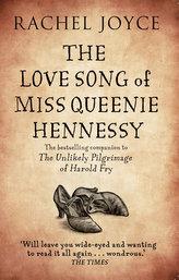 The Love Song of Miss Queenie Hennessy. Der nie abgeschickte Liebesbrief an Harold Fry, englische Ausgabe