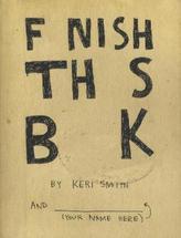 Finish This Book. Mein wildes Buch, englische Ausgabe
