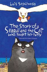 The Story of a Seagull and The Cat who Taught Her to Fly. Wie Kater Zorbas der kleinen Möwe das Fliegen beibrachte, englische Au