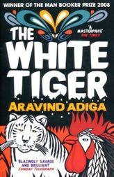 The White Tiger. Der weiße Tiger, englische Ausgabe