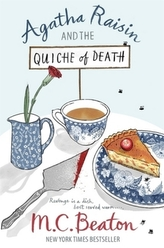 Agatha Raisin and the Quiche of Death. Agatha Raisin und der tote Richter, englische Ausgabe
