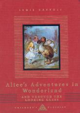 Alice's Adventures in Wonderland. Alice im Wunderland; Alice hinter den Spiegeln, englische Ausgabe