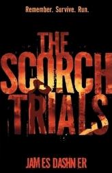 The Scorch Trials. Die Auserwählten - In der Brandwüste, englische Ausgabe
