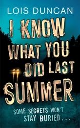 I Know What You Did Last Summer. Ich weiß, was Du letzten Sommer getan hast, englische Ausgabe