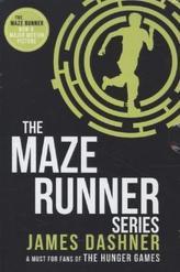 The Maze Runner Series, Classic Box Set, 3 Vols.