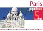 Paris PopOut Map, 5 maps