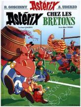 Asterix - Asterix chez les Bretons. Asterix bei den Briten, französische Ausgabe