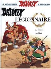 Asterix - Asterix Legionnaire. Asterix als Legionär, französische Ausgabe