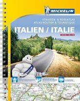 Michelin Straßen- und Reiseatlas Italien. Michelin Atlas routier & touristique Italie