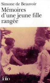 Memoires d'une jeune fille rangee. Memoiren einer Tochter aus gutem Hause, französische Ausgabe